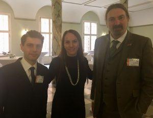 UK Members Alex Sobel MP and Chris Law MP also met IPU President Senator Gabriela Cuevas Barron in Bonn