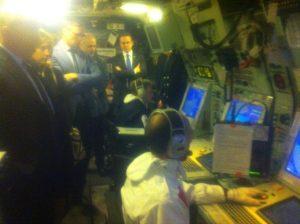 Submarine Exercise on board HMS Iron Duke