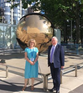 BGIPU was represented in New York at IPU events on the SDGs by Baroness Northover and Lord McConnell