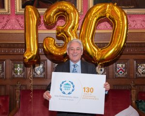 Speaker of the House of Commons, Rt Hon John Bercow MP spoke about the value of the IPU's work