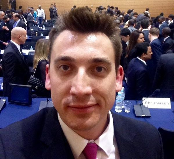 Gavin Shuker MP represented the UK Parliament at the Global Conference of Young Parliamentarians in Tokyo