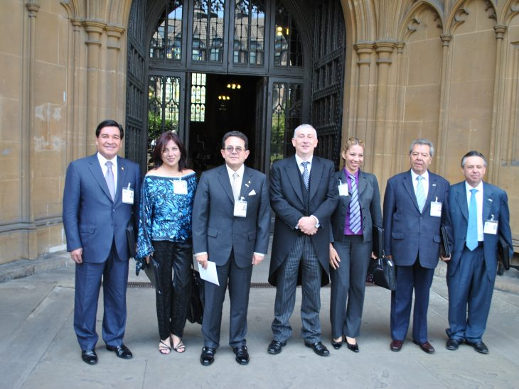 Inter-parliamentary delegation from Mexico visits the Palace of Westminster