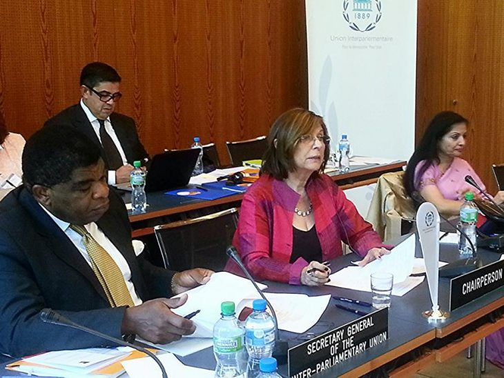 UK Lord Speaker chairs a session on women's economic empowerment