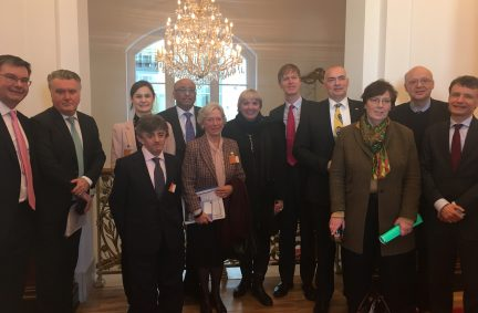 Delegation hosted by German IPU Group