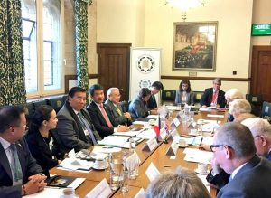 Roundtable discussions between UK MPs and Peers and the delegation from the Philippines Senate