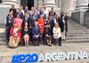 The Speakers and representatives of P20 Parliaments met at the National Congress of Argentina in Buenos Aires