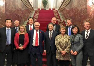 The UK Delegation meets members of the Mongolia-Britain Parliamentary Group of the State Grand Hural