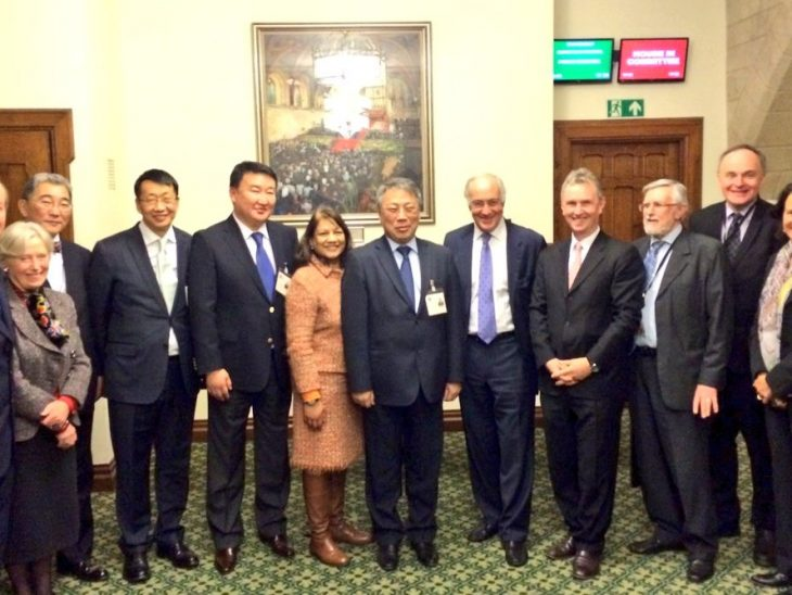 Mongolia Delegation led by HE Mr Amarjargal with BGIPU Chair and members
