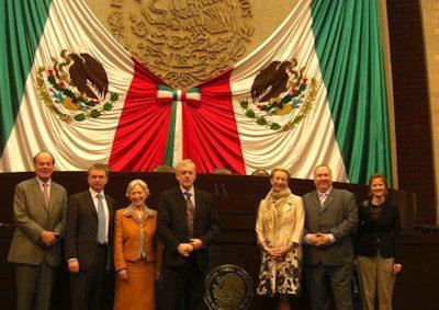 Delegates in the Mexican Senate