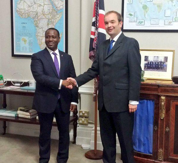 Meeting with Minister Duddridge