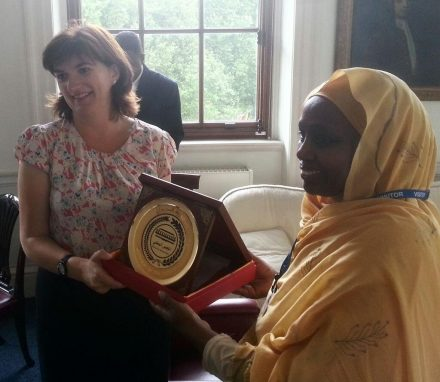 Sudan delegation meets the Minister for Women
