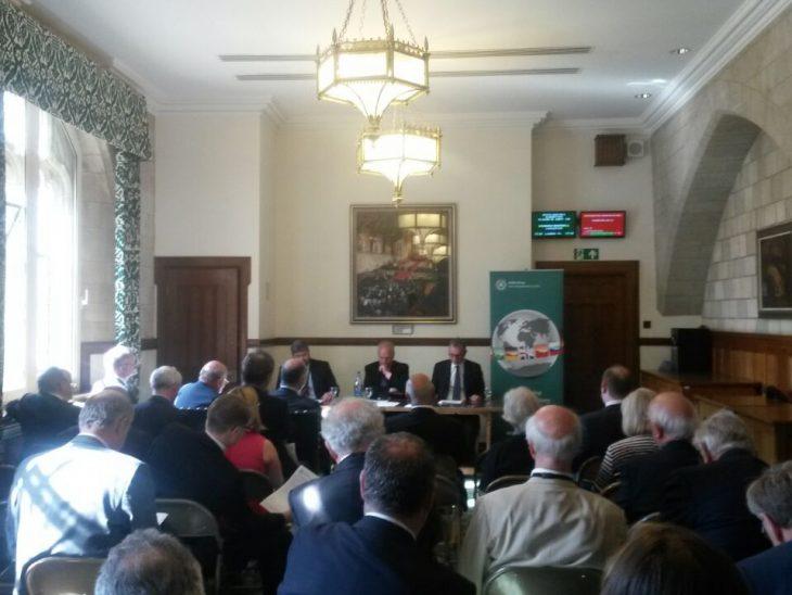 BGIPU Members at the SGM elect Nigel Evans as new Chair