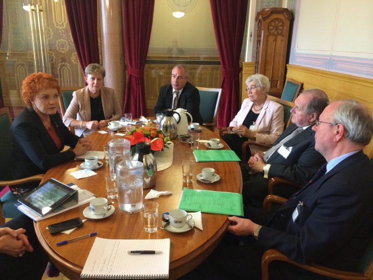 UK Delegation meeting with Norwegian Deputy Speaker Marit Nybakk