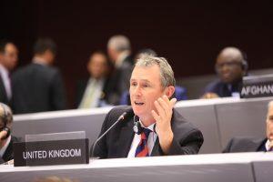 The AGM re-elected Nigel Evans MP as BGIPU Chair