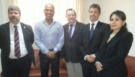 Lord Griffith and UK Ambassador meet President Martelly