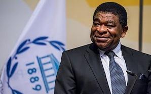 The IPU Secretary General, Martin Chungong of Cameroon
