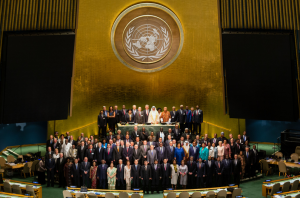 At the 4th World Conference of the Speakers of Parliament, Parliamentary leaders from nearly 140 countries participated in a three-day global summit in New York in late August/early September 2015.