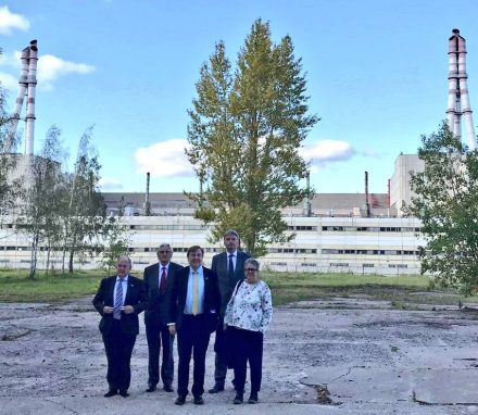 UK delegation to Lithuania visits the Ignalina Nuclear Power Plant to learn more about its decommissioning programme