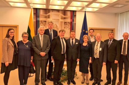 UK Delegation to Lithuania led by BGIPU CFhair, Rt Hon John Whittingdale MP, meets parliamentary counterparts in Seimas of the Republic of Lithuania