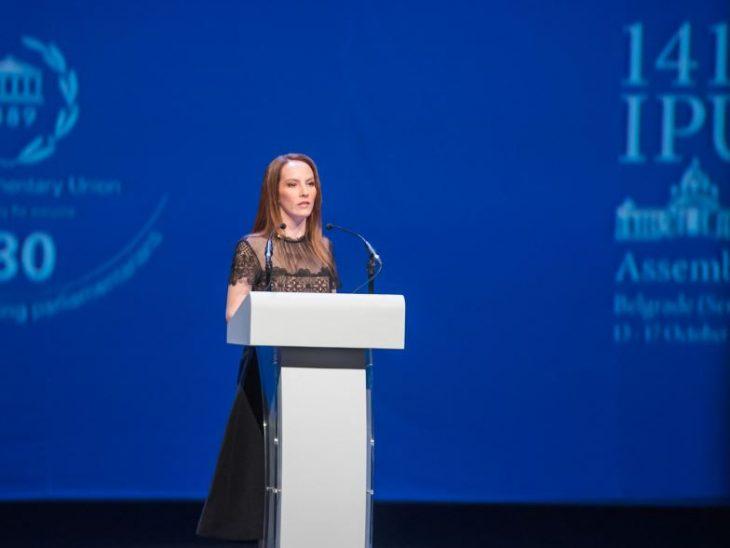 IPU President Gabriela Cuevas Barron of Mexico