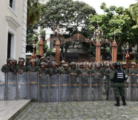 Security Forces in Venezuela have been used to obstruct the work of the legitimate elected body, the National Assembly and harass MPs
