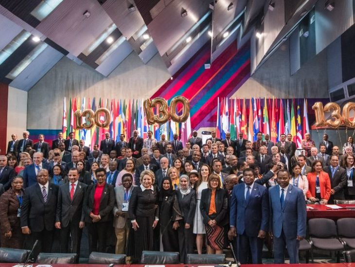The 141st Assembly in Belgrade coincided with the IPU's 130th Anniversary celebrations.