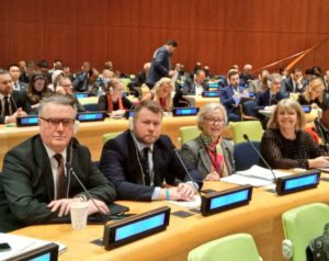 Harriett Baldwin was part of the February 2020 BGIPU delegation to the UN Parliamentary Hearing in New York