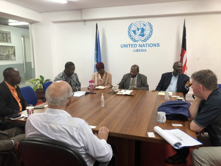 UK delegation meet UN Resident Coordinator, Kingsley Opoku Amaning and senior officials to discuss key UN activities