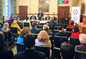 The AGM was chaired by the Speaker of the House of Commons, Rt Hon Sir Lindsay Hoyle MP.