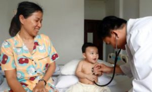 Pediatric ward in Ho Chi Minh City, Viet Nam. © GODONG / BSIP