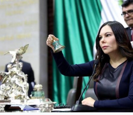 The Speaker of the Chamber of Deputies of mexico, Ms Laura Rojas © Mexican Chamber of Deputies