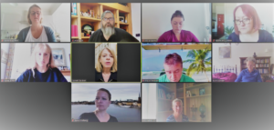 The BGIPU's first ever virtual bilateral exchange was held on 8 June with parliamentary counterparts from Sweden
