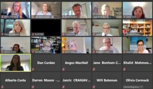 The virtual roundtable gave MPs and Peers a unique experience to learn directly from UK Missions who have has valued and unique insights into the national experiences and responses of each of their respective countries of accreditation.