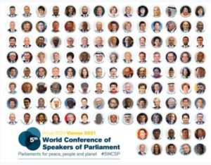 The overall theme was Parliamentary leadership for more effective multilateralism that delivers peace and sustainable development for the people and planet.