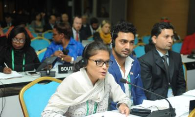 Young MPs at an IPU Assembly © IPU