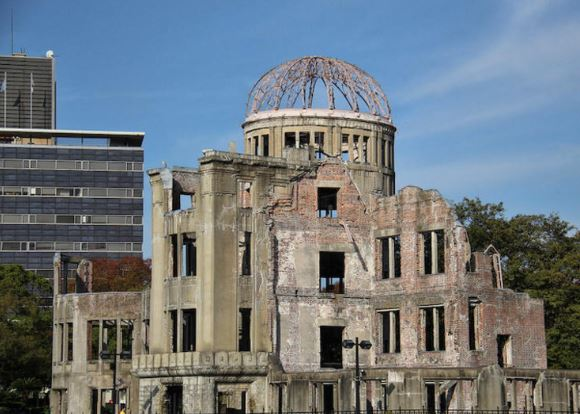 The Hiroshima Peace Memorial in Hiroshima. © Cory Denton (Dyroc)
