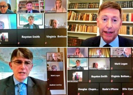 On 25 September, BGIPU hosted a virtual Asia-Pacific briefing session, with the Her Majesty's Ambassadors to Japan, HE Paul Madden, and Indonesia, HE Owen Jenkins.