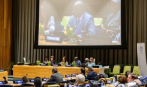 2020 Annual Parliamentary Hearing at the UN. © IPU / Joel S Photo