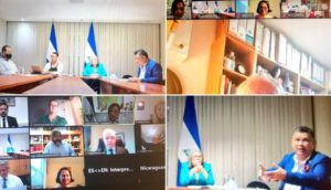 BGIPU and the Nicaraguan Embassy co-hosted a virtual bilateral meeting between members of the UK Parliament and the Nicaraguan National Assembly.