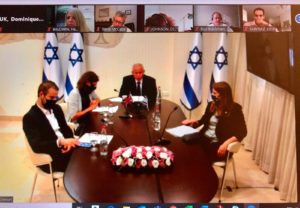 On 16 November 2020, BGIPU convened a virtual bilateral meeting between UK and Israeli Parliamentarians.