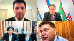 On 15 December, BGIPU hosted a bilateral meeting between parliamentarians from the UK and Uzbekistan. The meeting was co-chaired by Alex Sobel MP, BGIPU Treasurer, and Andrew Bridgen MP, Uzbekistan APPG Chair.
