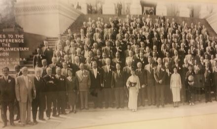 The US Congress was one of the nine founding members of the IPU in 1889 and among many major contributions, hosted the 42nd Conference of the IPU at the Capitol Building in Washington DC in October 1953.