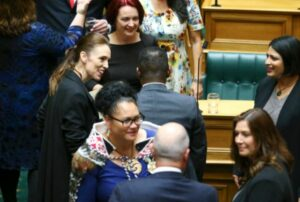 2020 elections in New Zealand saw an unprecedented increase in the numbers of women and traditionally under-represented groups. © Hagen Hopkins/Getty Images via AFP