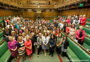Marking IWD 2021, the meeting had a timely focus on the importance of inclusive parliaments in the response to the gender impacts of the global pandemic, not least with the recent release of the Centenary Action Group's report on the Remotely Representative Parliament: Lesson Learning from the Hybrid Parliament written by Dr Jess Smith with Professor Sarah Childs. Copyright UK Parliament/ Jessica Taylor