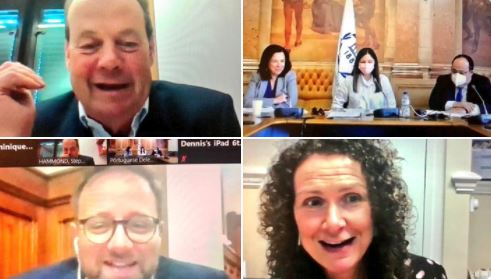 On 29 April, BGIPU hosted a virtual bilateral meeting between parliamentarians from the UK and Portugal was chaired by Portugal APPG Chair, Stephen Hammond MP,