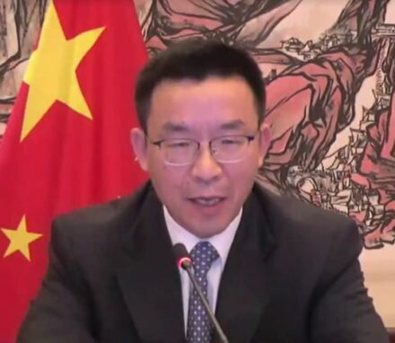 """IPU Vice-President Mr Chen on behalf of the delegation of China angrily rejected the 12 Plus concerns as """"groundless accusation and rumours"""" despite sanctions being announced by the Spokesperson of the Ministry of Foreign Affairs of the People's Republic of China"""