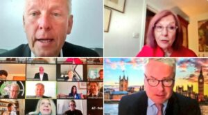On 27 May inthe margins of the 142nd IPU Assembly, UK Parliamentarians met virtually with members of the Austrian Parliament chaired by BGIPU Vice-Chair Rt Hon Baroness D'Souza with the Austrian side led by the Chair of their IPU Group Dr Reinhold Lopatka
