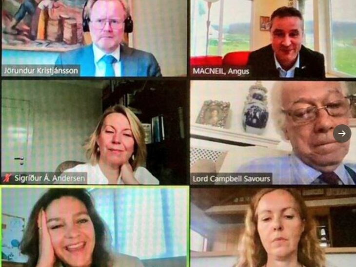 On 10 June, BGIPU hosted a virtual bilateral meeting between parliamentarians from the UK and Iceland. The meeting was chaired by Iceland APPG Chair, Angus MacNeil MP.