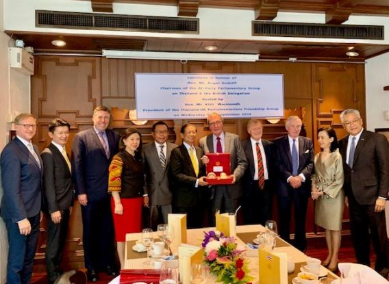 During 17 -20 September 2019, the Thailand All Party Parliamentary Group (APPG) visited Bangkok, Thailand, at the invitation of the Royal Thai Embassy.