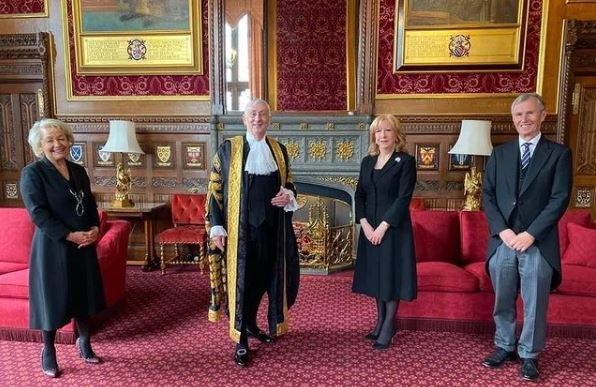 Dame Eleanor will be representing the Speaker of the House of Commons, Rt Hon Sir Lindsay Hoyle MP. She is the principal Deputy Speaker and Chairman of Ways and Means pictured here with Dame Rosie Winterton MP who is First Deputy Chairman of Ways and Means and former BGIPU Chair, Nigel Evans MP who is Second Deputy Chairman of Ways and Means.